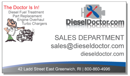 Diesel Doctor Business Card